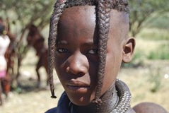 Little himba boy Royalty Free Stock Image