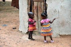 Little Himba children, Namibia Royalty Free Stock Photo
