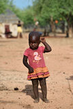 Little Himba girl, Namibia Royalty Free Stock Photo