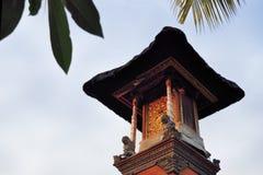 Little Hindu shrine in Ubud, Bali, Indonesia Stock Image