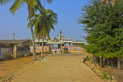Little Hindu temple Stock Images