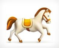 Little horse icon Stock Image