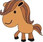 Little Horse Poney Animal Royalty Free Stock Photography