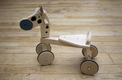 Little horse of wooden Stock Photography