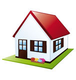 Little house Stock Images