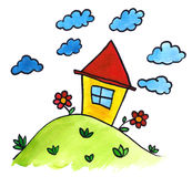 Little house Royalty Free Stock Image
