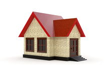 Little House (Day) Stock Photo