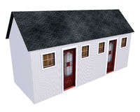 Little House - Duplex Royalty Free Stock Photography