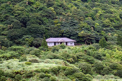 Little house at the farm at Yangmingshan Taipei Taiwan Royalty Free Stock Images