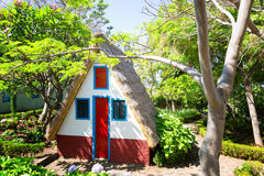 Little house in the garden Royalty Free Stock Image