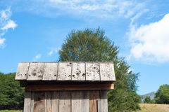 Little house in the green farm Royalty Free Stock Photography