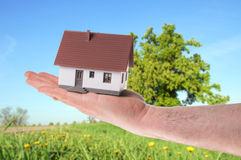 Little House Stock Photography