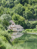 Little House on the river Loup. Stock Image