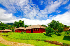 Little house  in thailand Royalty Free Stock Images