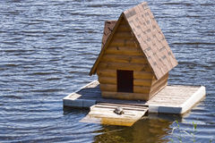 Little House on the water Royalty Free Stock Photo