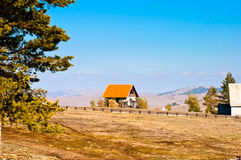 House in Zlatibor Stock Photography