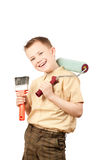 Little housepainter Stock Photography