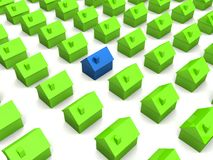 Little houses Royalty Free Stock Images