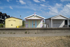 Little houses in Whitstable Royalty Free Stock Photo