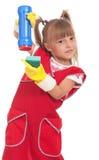 Little housewife Stock Image