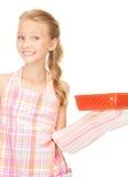 Little housewife Stock Photo