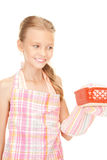 Little housewife Royalty Free Stock Photo