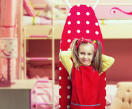 Little housewife Royalty Free Stock Photography
