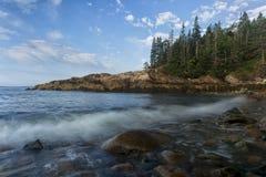 Little Hunters Beach. At Hunters Head, Acadia National Park, Maine Royalty Free Stock Photo