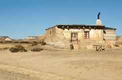 Little hus på prärien Fotografering för Bildbyråer