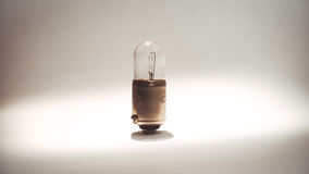 Little Incandescent lamp used to illuminate the vehicle interior Royalty Free Stock Image