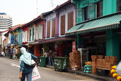 Little india Stock Photo