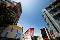 Little India district in Singapore. Stock Photo