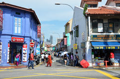 Little India district Stock Photo
