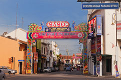 Little India in Malacca Royalty Free Stock Images