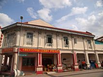 Little India, Singapore. Shop-house along Serangoon Road, Singapore, also know as Little India Stock Photo