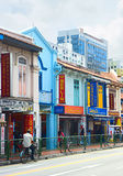 Little India in Singapore Stock Photography