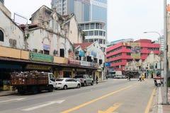 Little India street in Kuala Lumpur Stock Photo