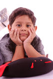 Little indian boy Stock Images