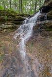 Little Indiana Waterfall Stock Image