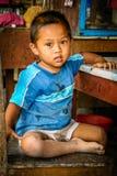 Little indonesian boy Royalty Free Stock Photos
