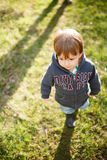 Infant walking Stock Image