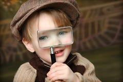 Little Investigator Stock Photos