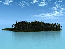 Little island Stock Images