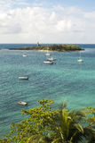 Little island. In the Caribbean Royalty Free Stock Images