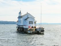 Small island in the Oslo Fjord, Norway Stock Photo