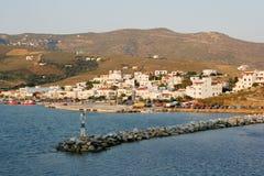 Little Island Port Stock Images