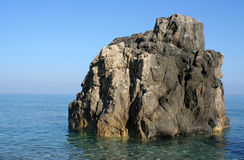 Little island sea beach Stock Photo