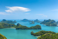 Little islands in Angthong National Marine Park Thailand Stock Image