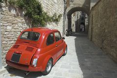 Little Italian car Stock Photography