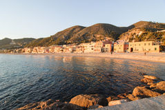 The little Italian paradise Varigotti Royalty Free Stock Photography